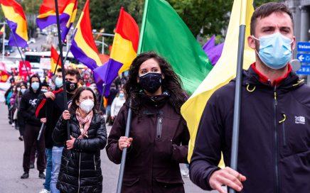 Manifestación del 25 de octubre en Madrid